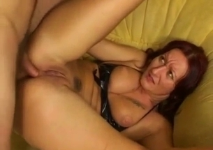 Outstanding anal fuck with my big-boobed mommy