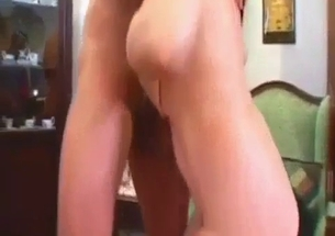 Mom slut carefully sucks her son on the knees