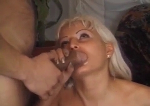 Big-boobed sister gets drilled in her little tight twat